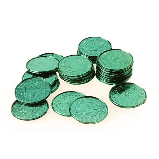 St. Patrick's Day Favors & Prizes St. Patrick's Day Coins Image