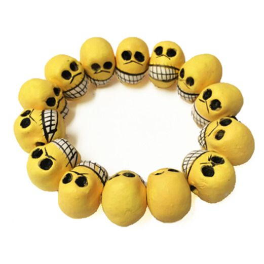 Day of the Dead Decorations Day of the Dead Skull Bracelet Image