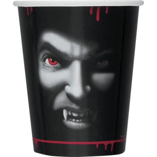 Halloween Table Accessories Vampire Cups Image