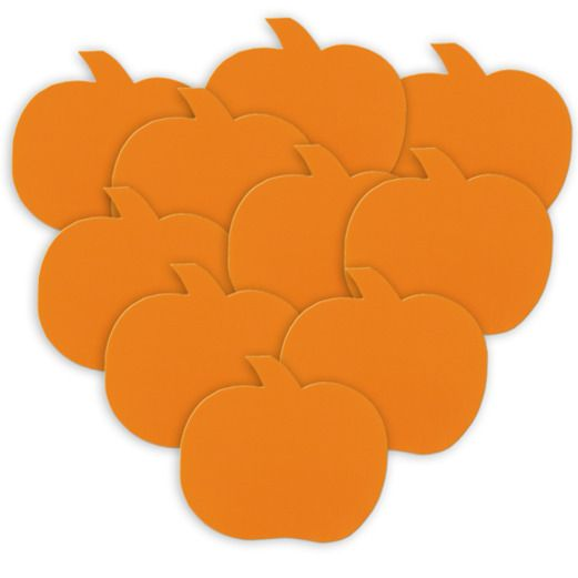 Halloween Decorations Mini Pumpkin Cutouts Image
