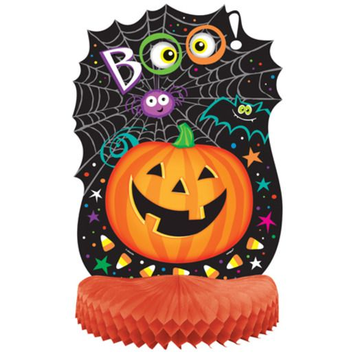 Halloween Decorations Pumpkin Pal Centerpiece Image