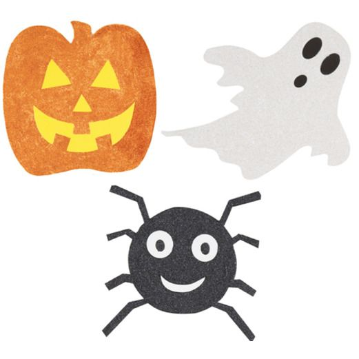 Halloween Decorations Halloween Glittered Cutouts Image