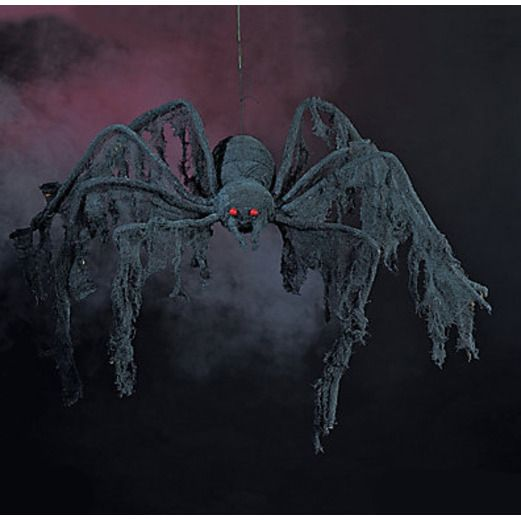 Halloween Decorations Black Creepy Spider Image