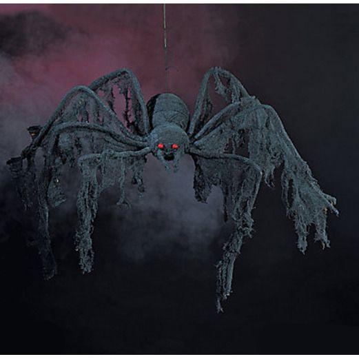 Halloween Decorations Black Creepy Spider Image