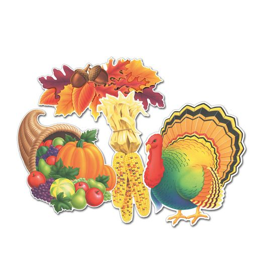 Thanksgiving Decorations Thanksgiving Cutouts Image