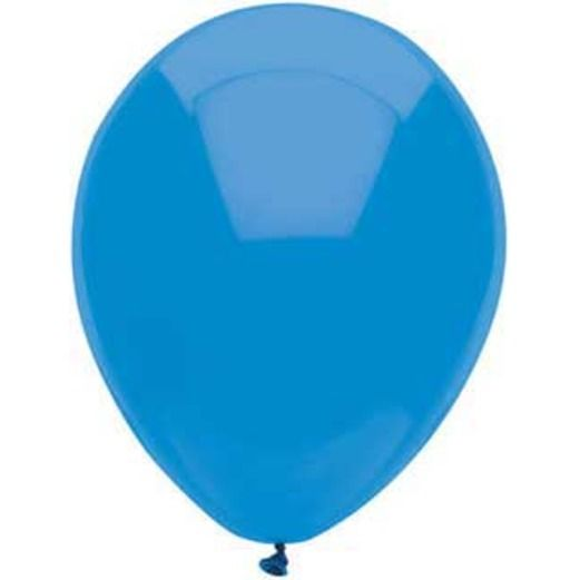 """4th of July Balloons 11"""" Bright Blue Balloons Image"""