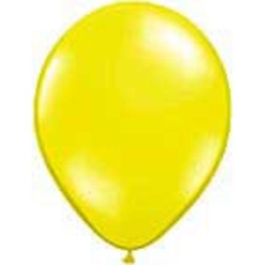 "Luau Balloons 11"" Citrine Yellow Balloons Image"