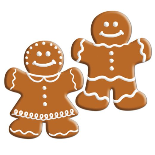 Christmas Decorations Mini Gingerbread Cutouts Image