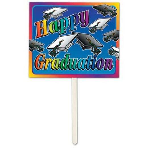 Graduation Decorations Graduation Yard Sign Image
