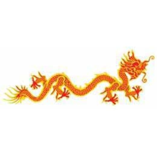 International Decorations Dragon Cutout Image