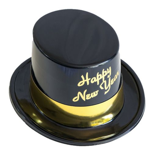 New Years Hats & Headwear Gold Legacy Topper Image