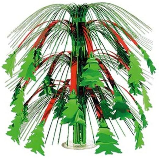 Christmas Decorations Christmas Tree Cascade Centerpiece Image