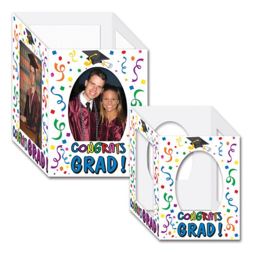 Graduation Decorations Congrats Grad Photo Centerpieces Image