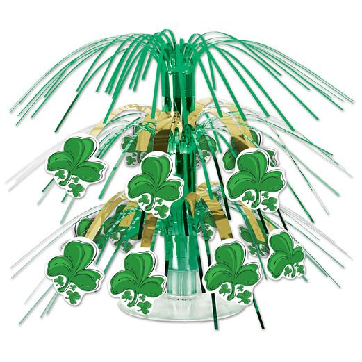 St. Patrick's Day Decorations Mini Shamrock Centerpiece Image