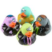 Halloween Favors & Prizes Zombie Rubber Duckies Image