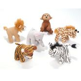 Favors & Prizes Zoo Animal Plush Image