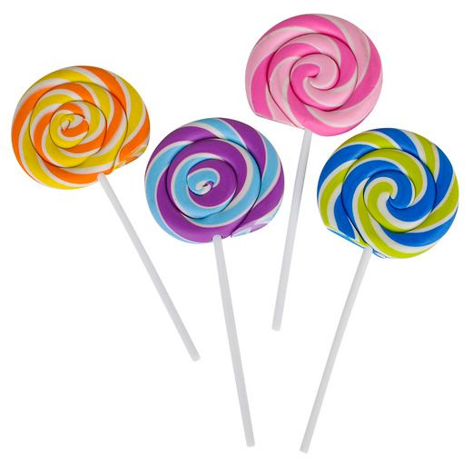 Favors & Prizes Lollipop Erasers Image