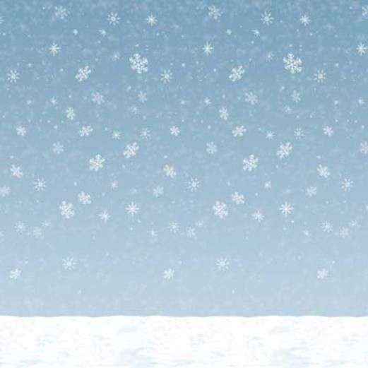 Christmas Decorations Winter Sky Backdrop Image