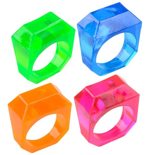 Favors & Prizes Crystal Rings Image