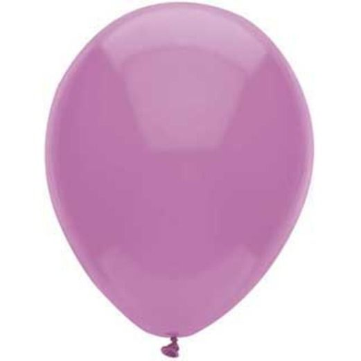 """Baby Shower Balloons 11"""" Lavender Value Balloons Image"""