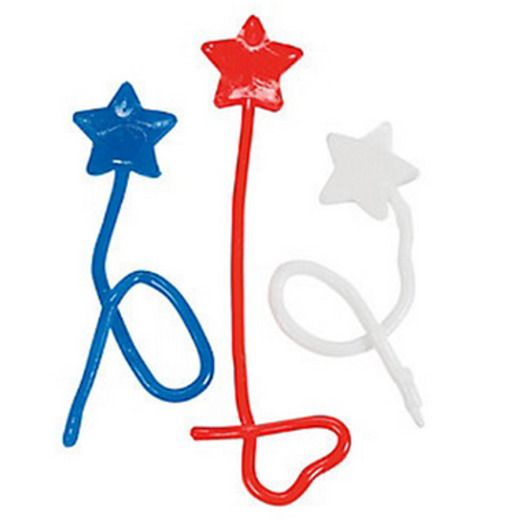 4th of July Favors & Prizes Patriotic Sticky Stars Image
