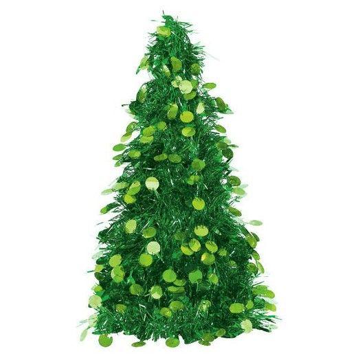 Christmas Decorations Tinsel Christmas Tree Image