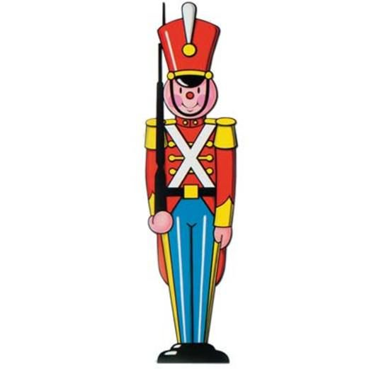 Christmas Decorations Toy Soldier Cutout Image