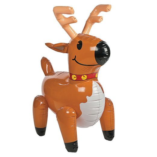 Christmas Favors & Prizes Giant Reindeer Inflate Image