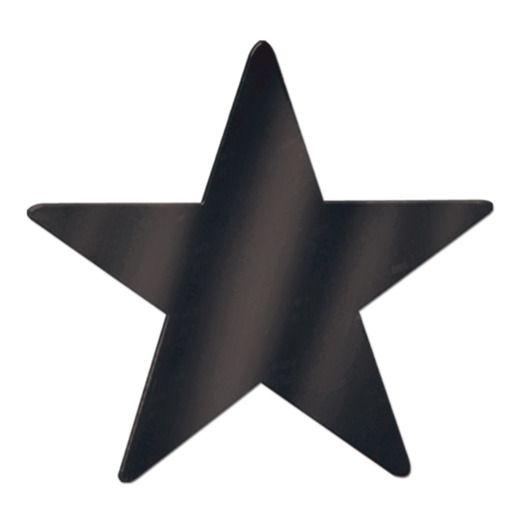"15"" Black Foil Star"