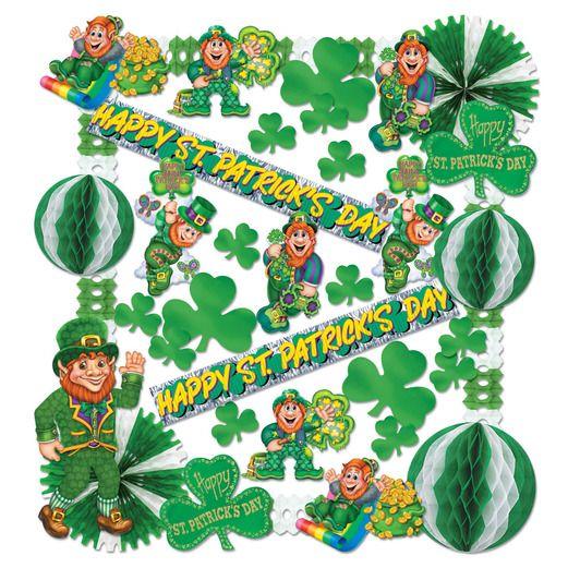 St. Patrick's Day Decorations St. Patricks Day Decorating Kit Image