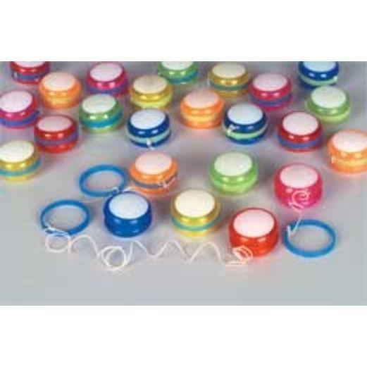 Birthday Party Favors & Prizes Mini Plastic Yo Yos Image