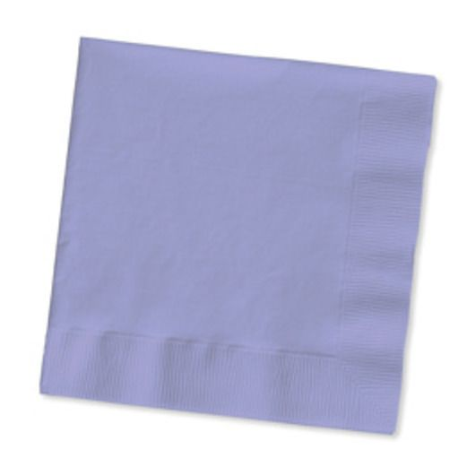 Baby Shower Table Accessories Lavender Luncheon Napkins Image