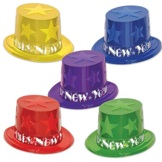 New Years Hats & Headwear New Year Assorted Star Topper Image