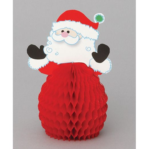 Christmas Decorations Santa Centerpieces Image