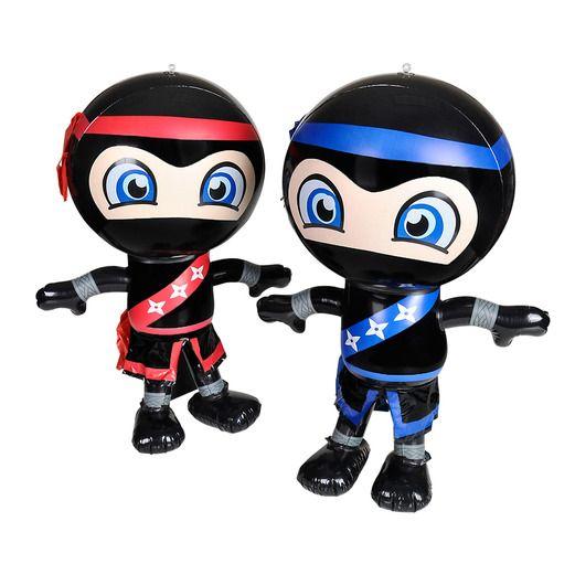 Favors & Prizes Ninja Inflate Image