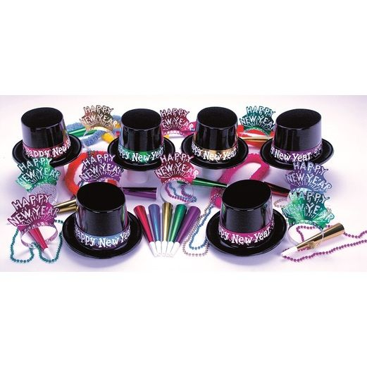 New Years Party Kits Midnight Party Kit for 50 Image