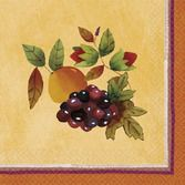 Thanksgiving Table Accessories Thanksgiving Medley Beverage Napkins Image