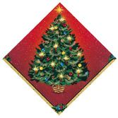 Christmas Table Accessories Warmth of Christmas Luncheon Napkins Image
