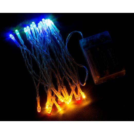 Multicolor Flashing String Lights