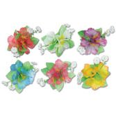 Luau Party Wear Hibiscus Hair Clip Image