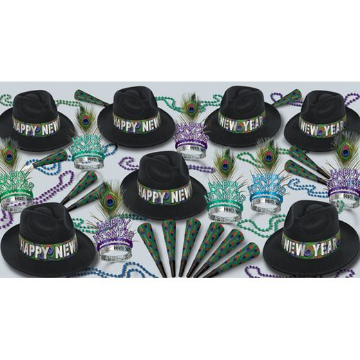 New Years Party Kits Peacock for 50 Image