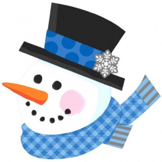 Christmas Decorations Snowman Cutout Image