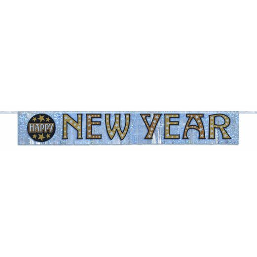 New Years Decorations New Year Stars Fringe Banner Image