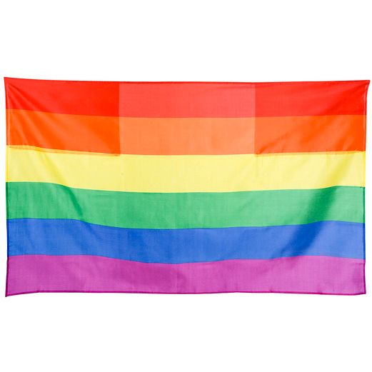 Decorations Rainbow Flag Cape Image