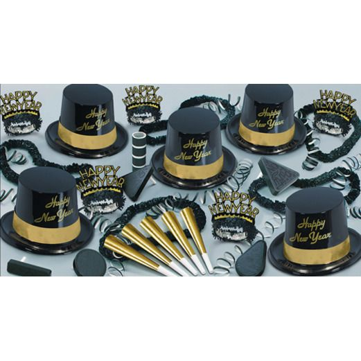 New Years Party Kits Gold Legacy for 10 Image