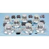New Years Party Kits Silver Regal for 10 Image