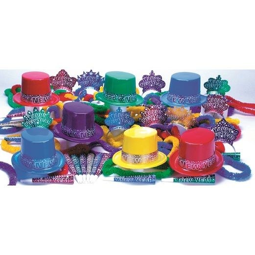 New Years Party Kits Starry Nights for 10 Image