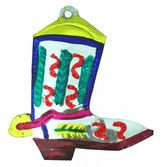 Decorations Boot Tin Ornament Image