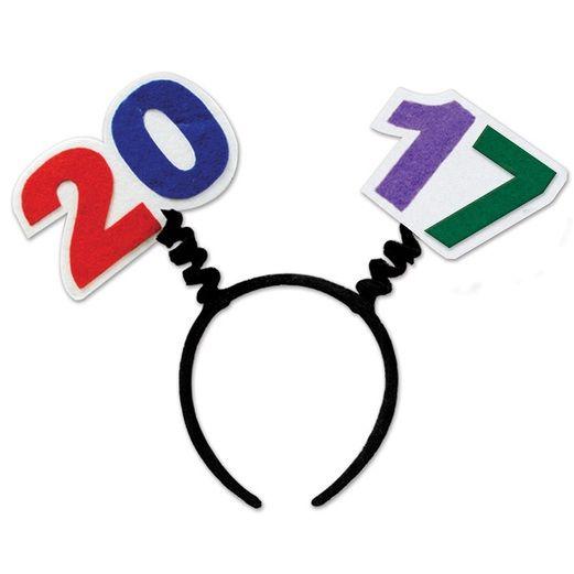 New Years Hats & Headwear 2017 Head Bopper Image