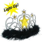 New Years Hats & Headwear Light-Up Star Tiara Image
